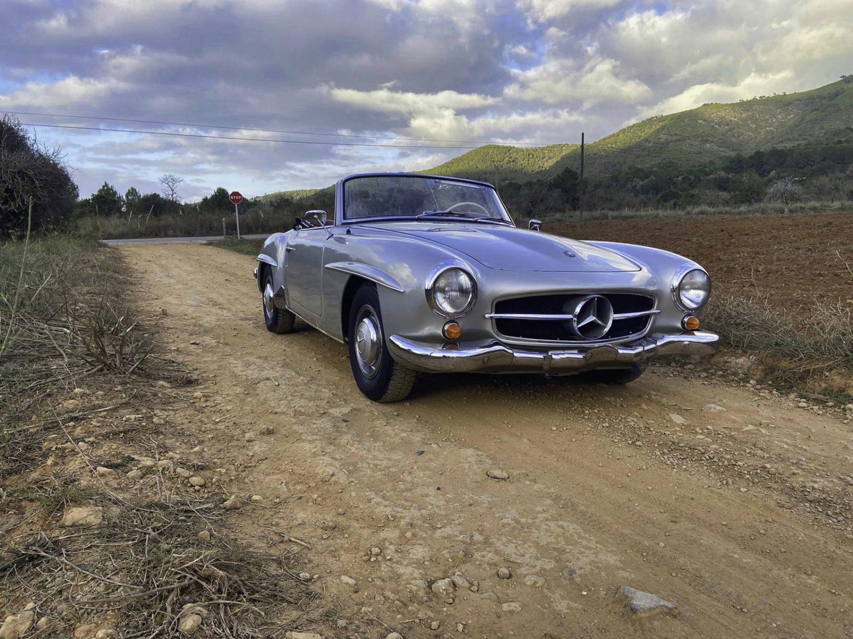 super vintage car ibiza